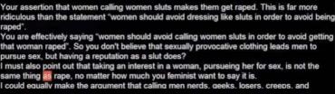 Feministisk argumentation